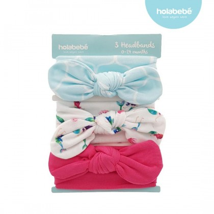 Holabebe 3 in 1 Baby Headbands