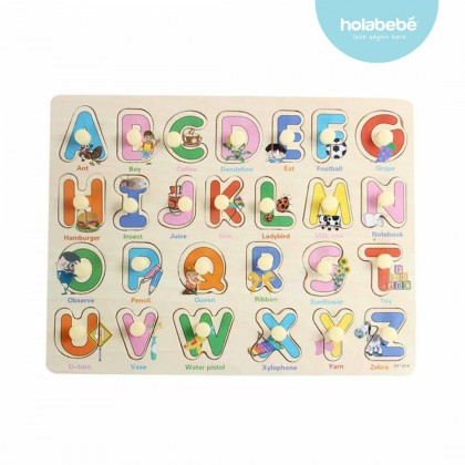 Kids Early Learning Educational Wooden Puzzle Board Jigsaw Puzzle