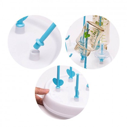 Portable Baby Feeding Bottle Drying Rack