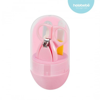 Infant Baby Nail Clipper Set Grooming Manicure Set with Scissors Tweezers