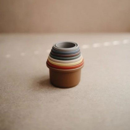 Mushie Stacking Cups