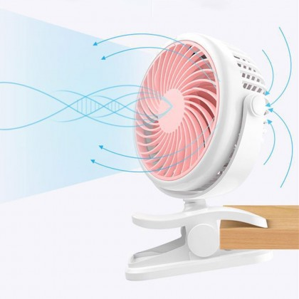 3 level Baby Clip on Fan rechargeable strong wind detachable multifunction