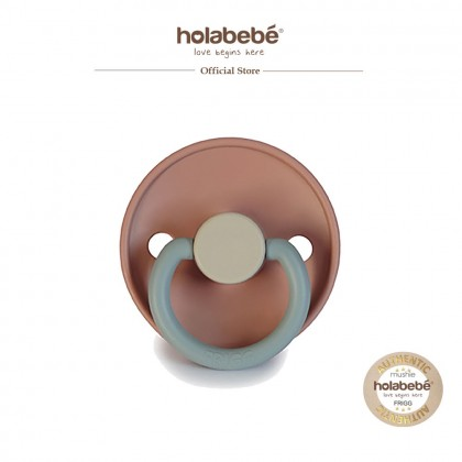 Frigg Classic Silicone Colorblock Baby Pacifier